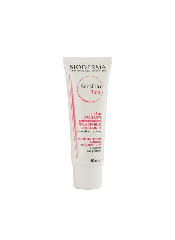 Bioderma Sensibio Rich Cream (For Sensitive Skin) 40 ml